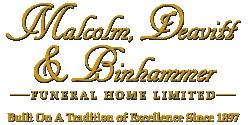 Malcolm, Deavitt & Binhammer Funeral Home
